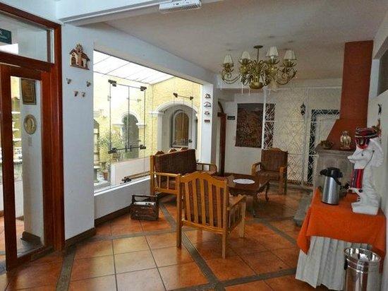 Hotel Hacienda Puno : salon
