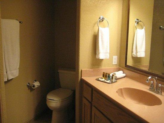 Sedona Summit Resort : toilet area = slightly claustrophobic