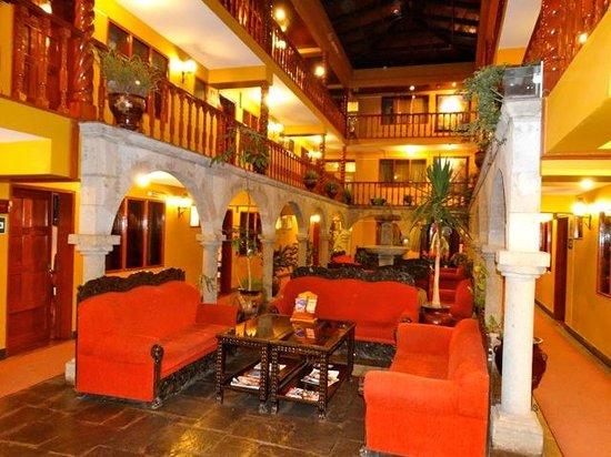 Hotel Munay Wasi : inrérieur