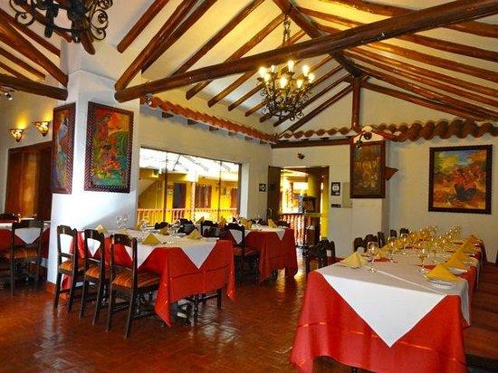 Hotel Munay Wasi: salle à manger