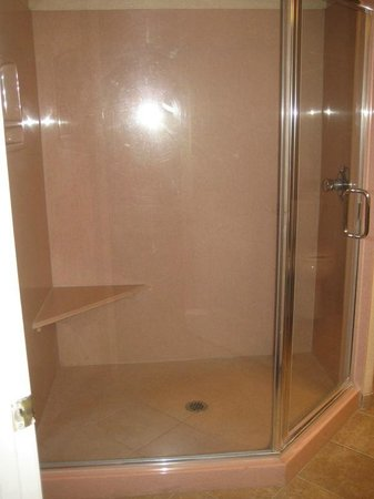 Sedona Summit Resort: good size shower