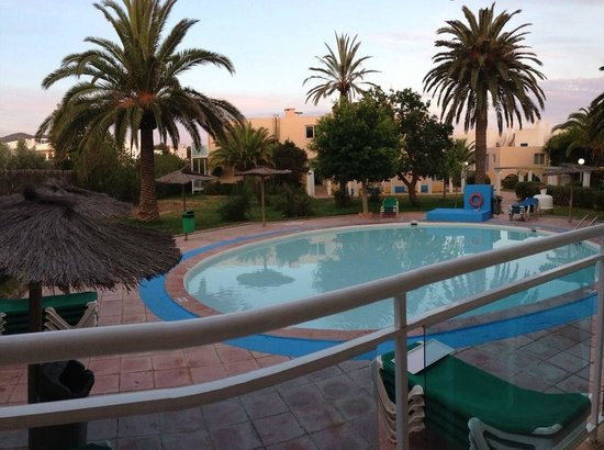 Apartahotel Maritim: view from our room