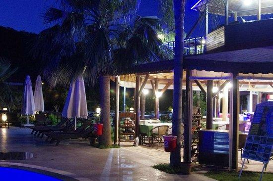 Nerissa Hotel : бар у бассейна