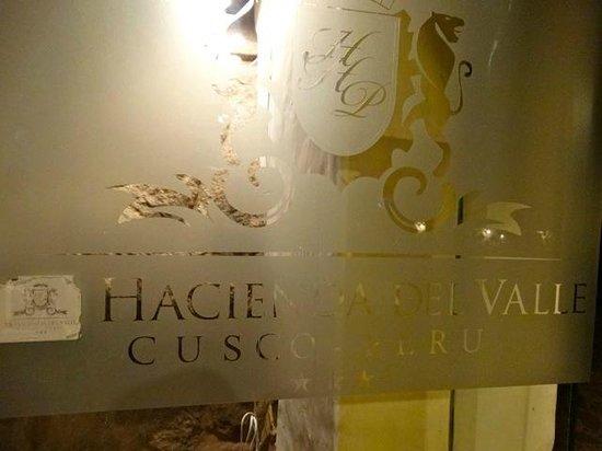 Hotel Hacienda del Valle: entrée