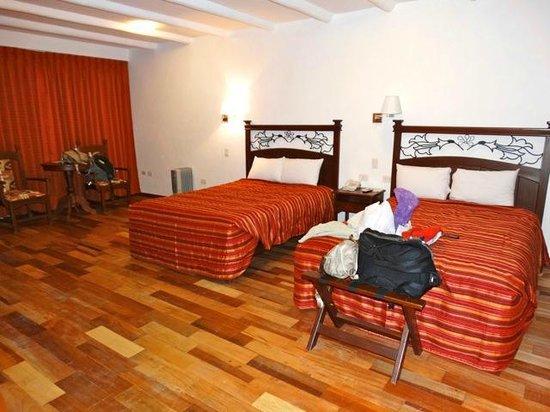 Hotel Hacienda del Valle: chambre