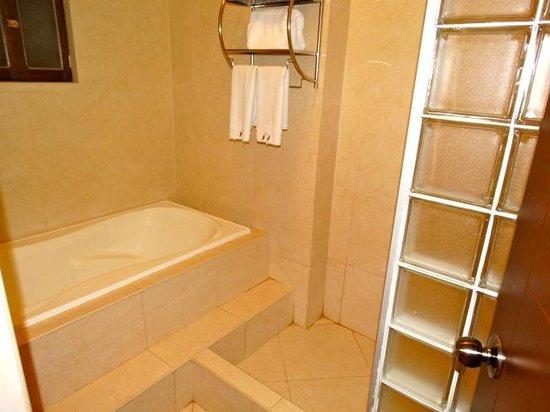 Hotel Hacienda del Valle : salle de bain