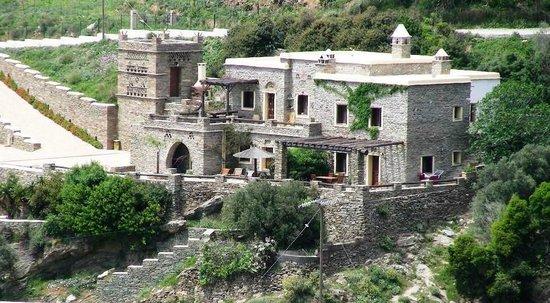 Anastasia Traditional houses: Άνω Γαύριο - Άνδρος