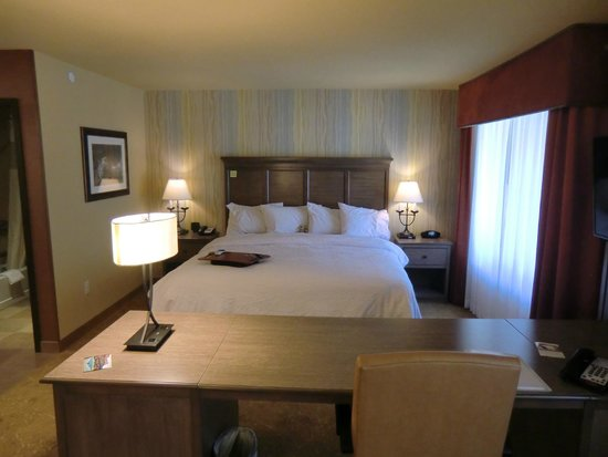 Hampton Inn & Suites Springdale Zion National Park: King-Bett