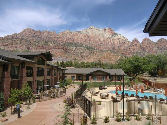 Hampton Inn & Suites Springdale Zion National Park: Zimmeraussicht