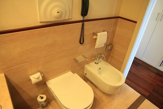 Hilton Florence Metropole : Toilette