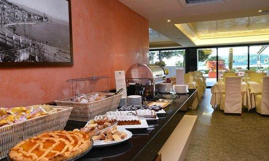 Salo' du Parc Hotel: Buffet colazioni