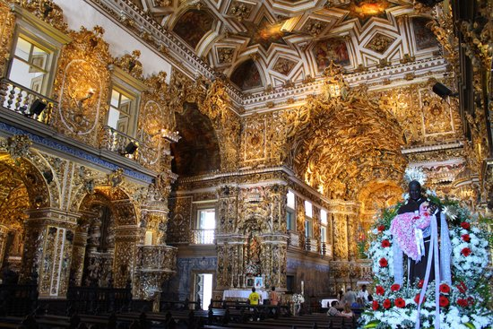 Igreja Sao Francisco : Interior