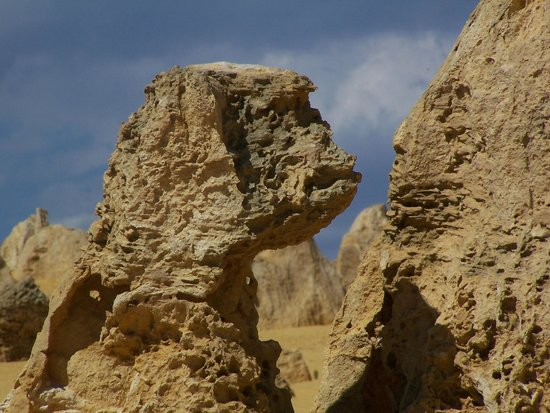 The Pinnacles: The Sphinx?