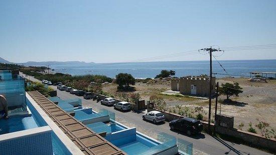 Boutique 5 Hotel & Spa : Widok z balkonu
