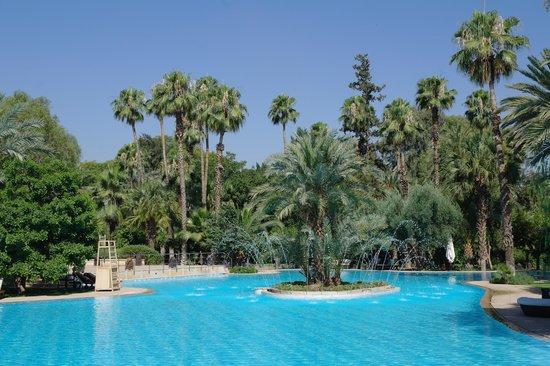 Es Saadi Marrakech Resort - Palace : Pool fountain