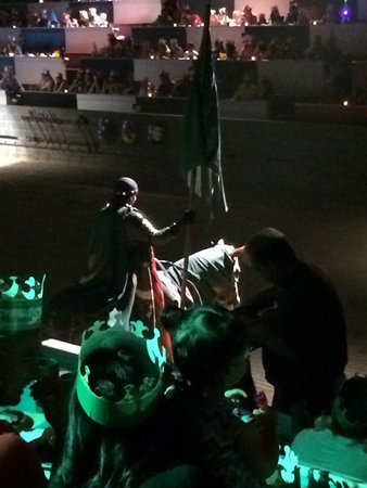Medieval Times Dinner & Tournament: Our Green knight Leon