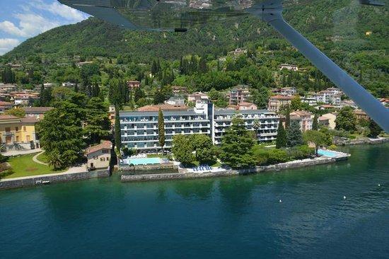 Salo' du Parc Hotel: Vista aerea