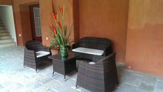 Casa Pestagua Hotel Boutique, Spa : Seating area on 1st floor