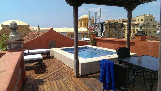 Casa Pestagua Hotel Boutique, Spa : Rooftop jacuzzi