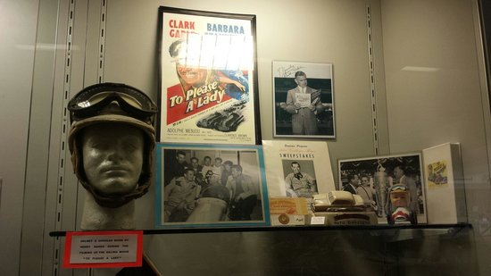 Indianapolis Motor Speedway Museum : Clarck Gable was also into race