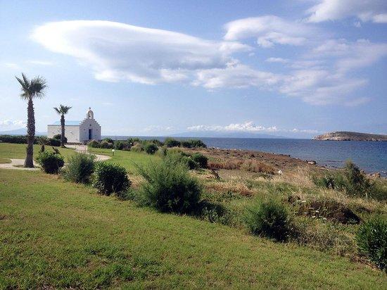 Poseidon of Paros: Chapelle de l'hôtel