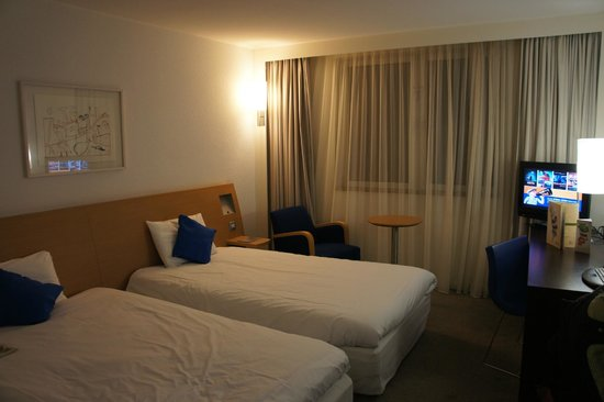 Novotel Edinburgh Centre: Double room