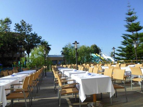 Grand Kaptan Hotel : the dining room