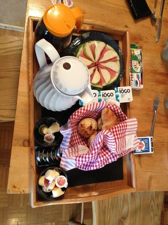 Hay Lake Lodge and Cottages: Breakfast