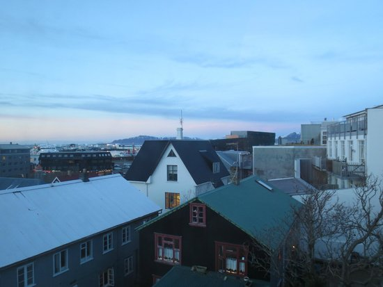 Luna Hotel Apartments: View from one of the windows