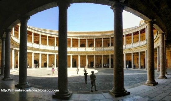 Palace of Carlos V: Courtyard
