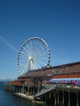 Seattle Waterfront: waterfront view