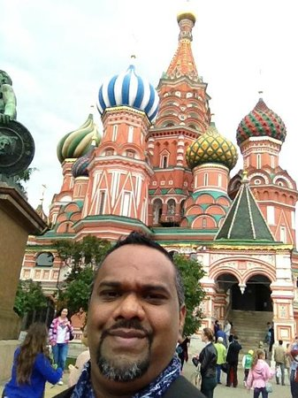 Place Rouge : Red Square Moscow