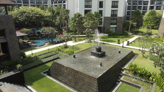 Pullman Bali Legian Nirwana: Inner side of the complex