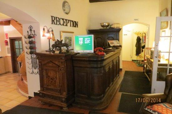 Waldhotel Silbermuehle: die Lobby