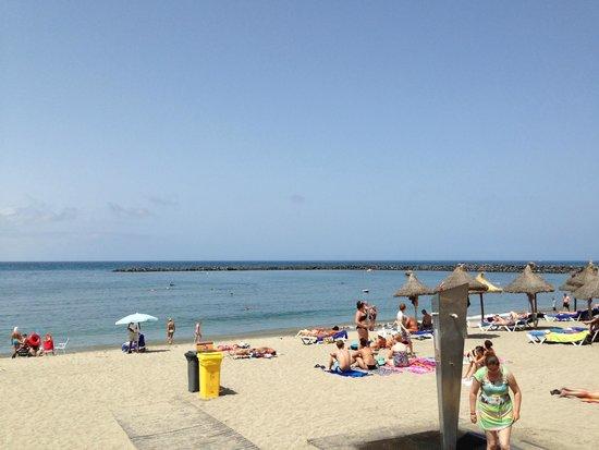 Mediterranean Palace Hotel: Пляж