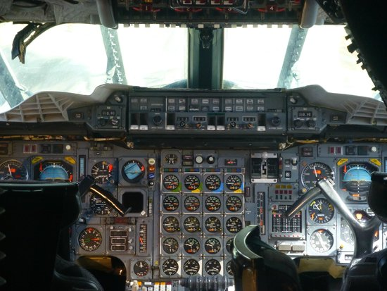 The Museum of Flight: Concord Flight Deck