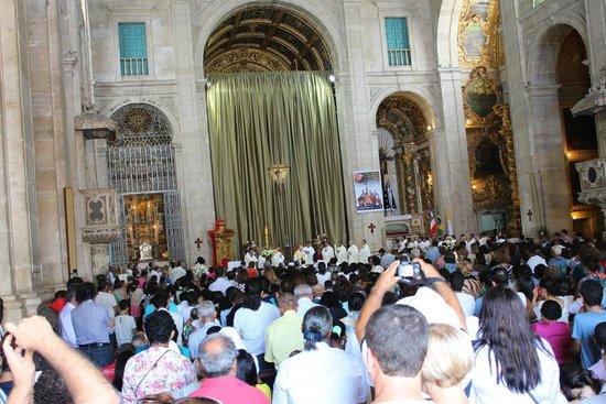 Basilica Cathedral : celebración de la misa