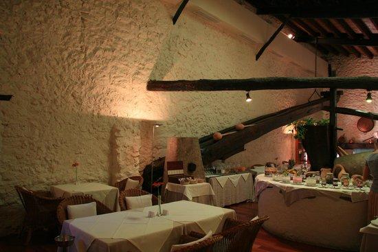 L'Hermitage: das schöne Restaurant