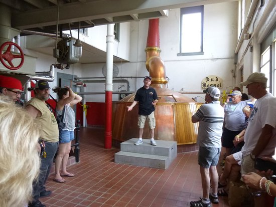 August Schell Brewery: Brewery Tour