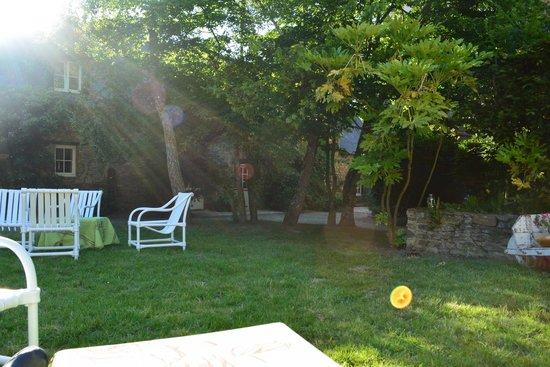 Hotel Kastell Dinec'h : jardin
