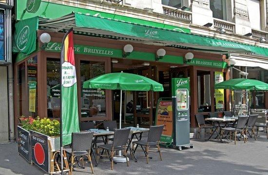 Restaurant Leon De Bruxelles Opera