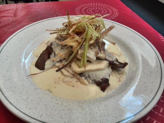 Restaurant Pizzeria Tonetto: foto hecha con mi móvil...... menu 10€!!!!