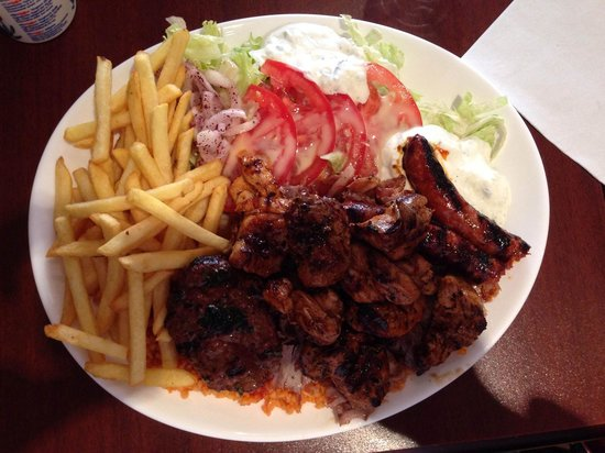 Istanbul Grill: varieties of grills