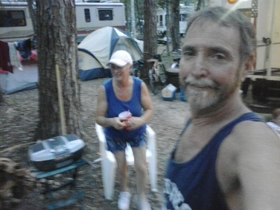 Chassahowitzka River Campground: me and the misses