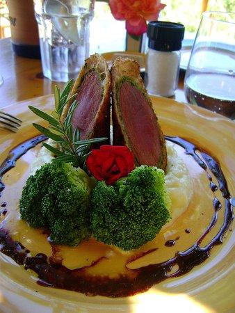 Fraai Uitzicht Restaurant : Wrapped venison