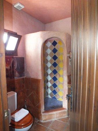 Hotel  Alavera de los Baños: la salle bain