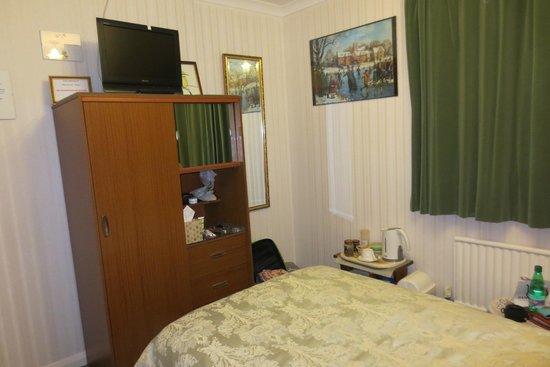 The Wirrals: Zimmeransicht - Blich vom Bett aus