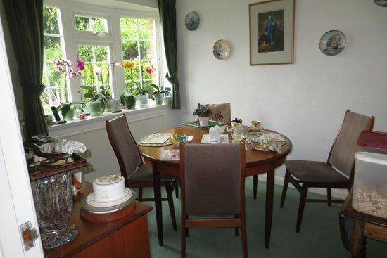 The Wirrals: Frühstückstisch