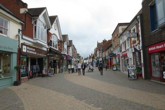 The Wirrals: Fußgängerzone Horsham