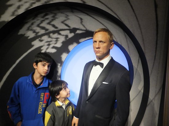 Madame Tussauds London: 007